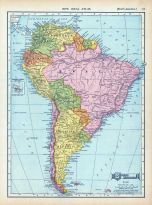 Page 113 - South America, World Atlas 1911c from Minnesota State and County Survey Atlas